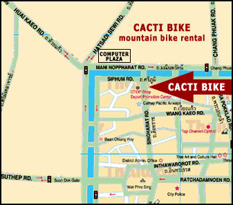 Bicycle Rental In Chiang Mai Thailand